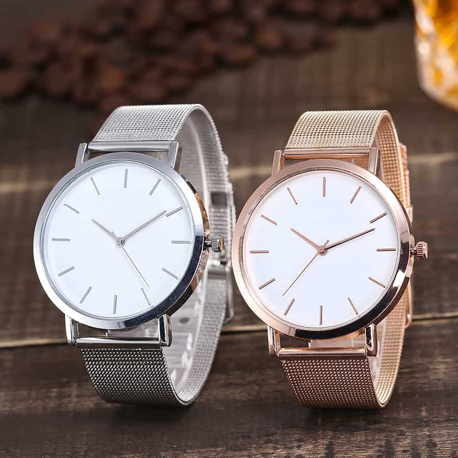 Confidence and Self-Esteem: Simple Watch Unisex Fashion Accessory