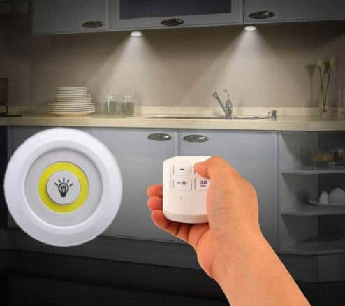 Cabinet LED Light Touch Operated And Remote Control