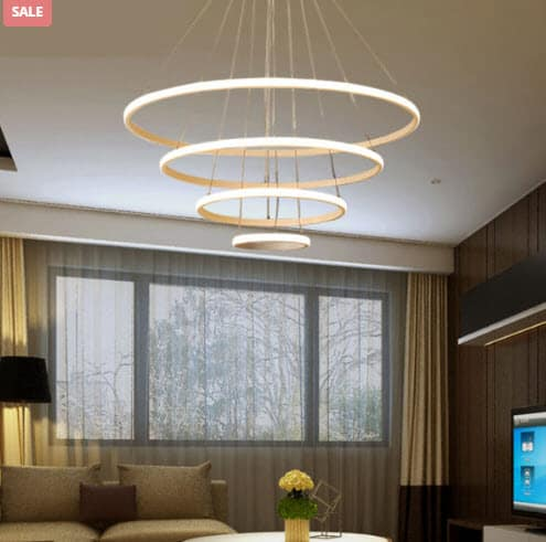 Decor: Modern LED Chandeliers