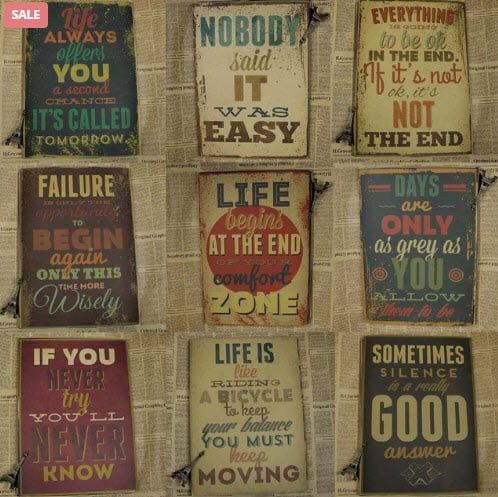Motivational Wall Decoration For Inspiration