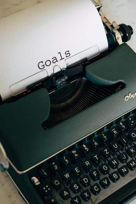 Examples of Personal Growth Goals For The Reader
